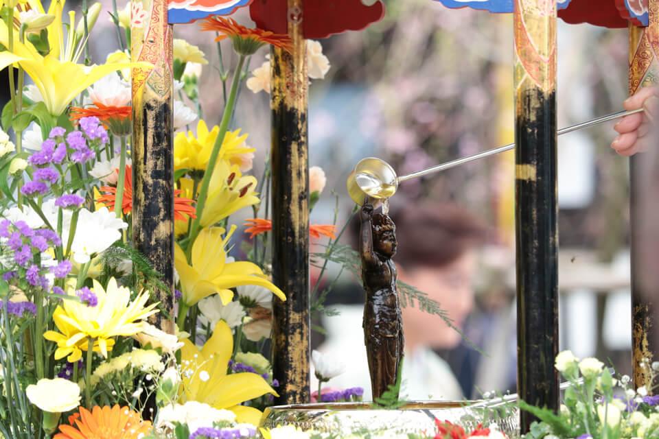 灌仏会(花まつり)