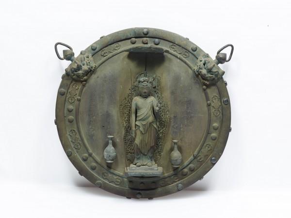 長谷寺(神奈川)_銅造十一面観音懸仏